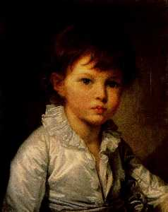 Jean-Baptiste Greuze - Earl P. A. Stroganov as a child