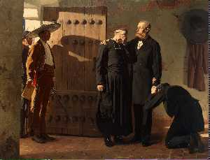 Jean-Paul Laurens - Emperor Maximilian of Mexico before the Execution