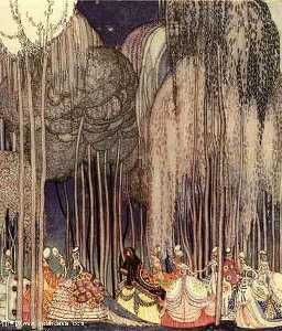 Kay Rasmus Nielsen - On the Way to the Dance