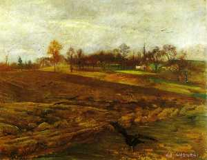 Lovis Corinth (Franz Hein.. - Large Landscape with Rave..