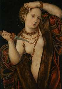 Lucas Cranach The Younger - Lucretia