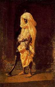 Mariano Fortuny - Moroccan Soldier