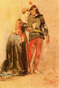 Mariano Fortuny - Young couple