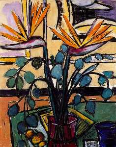 Max Beckmann - Still Life with Birds of ..