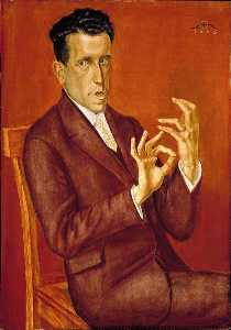 Otto Dix - Portrait of the Lawyer Hu..