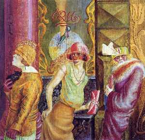 Otto Dix - Three Prostitutes on the ..