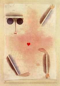 Paul Klee - Has a head, hand, foot and heart