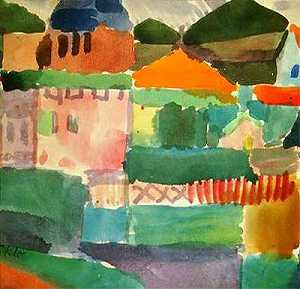 Paul Klee - In the Houses of Saint Ge..