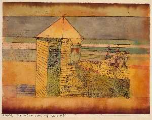 Paul Klee - Miraculous Landing, or the --112--!