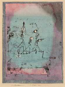 Paul Klee - Twittering machine 1