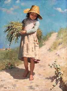 Paul Peel - The Young Gleaner