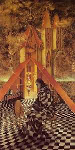 Remedios Varo - Science useless or The Alchemist