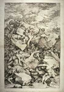 Salvator Rosa - Fall of the Giants