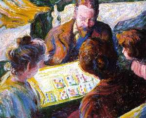 Theodore Earl Butler - The Cards Players