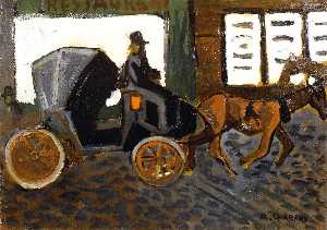 Auguste Chabaud - The Carriage
