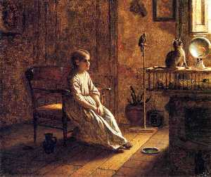 Jonathan Eastman Johnson - A Child-s Menagerie