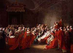 John Singleton Copley - The Colapse of the Earl o..