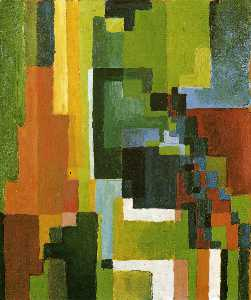 August Macke - Colored Forms II