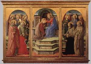 Fra Filippo Lippi - Coronation of the Virgin