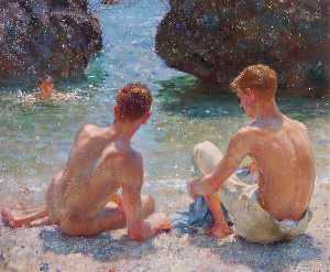 Henry Scott Tuke - The Critics