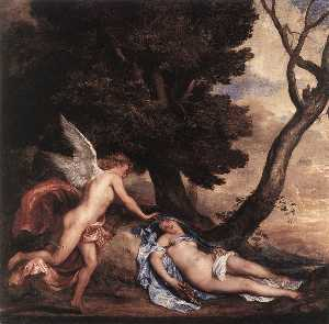 Anthony Van Dyck - Cupid and Psyche