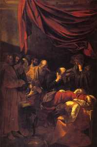 Caravaggio (Michelangelo .. - Death of the Virgin