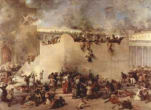 Francesco Hayez - Destruction of Temple of Jerusalem
