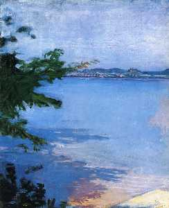 Abbott Handerson Thayer - Dublin Pond, New Hampshir..