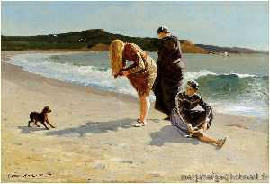 Winslow Homer - Eagle Head, Manchester, Massachusetts (also known as High Tide)