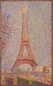 Georges Pierre Seurat - The Eiffel Tower