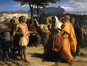 Alexandre Cabanel - Envoys of the Senate Offer the Dictatorship to Cincinnatus