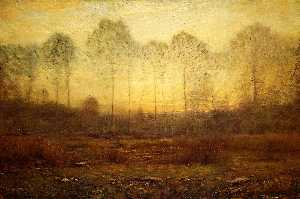 Dwight William Tryon - Evening Fog