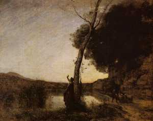 Jean Baptiste Camille Corot - The Evening Star