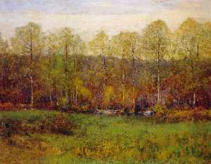 Dwight William Tryon - The First Leaves