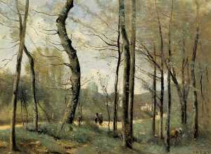 Jean Baptiste Camille Cor.. - First Leaves, near Nantes