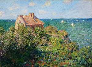 Claude Monet - Fisherman-s Cottage at Varengeville