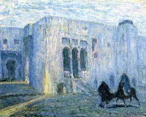Henry Ossawa Tanner - Flight into Egypt: Palais de Justice, Tangier