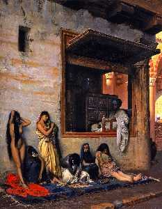 Jean Léon Gérôme - For Sale (also known as The Slave Market)