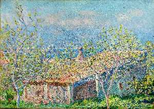 Claude Monet - Gardener-s House at Antibes