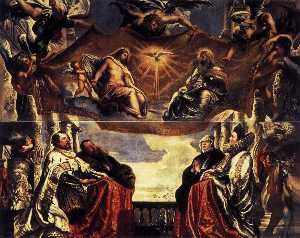 Peter Paul Rubens - The Gonzaga Family Worshipping the Holy Trinity