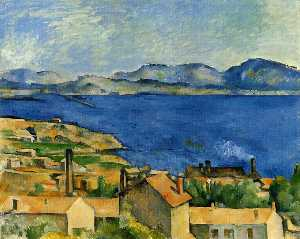 Paul Cezanne - The Gulf of Marseille Seen from L-Estaque