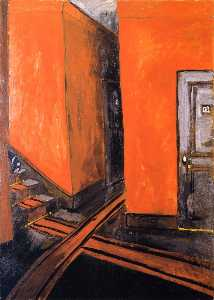 Auguste Chabaud - Hotel Corridor