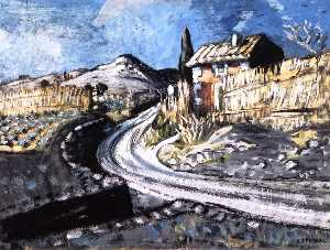 Auguste Chabaud - House by the Road