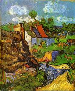 Vincent Van Gogh - Houses in Auvers 2