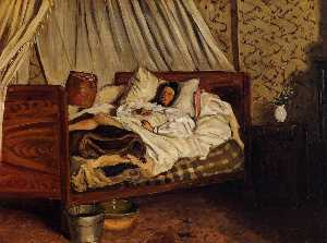 Jean Frederic Bazille - The Improvised Field Hosp..