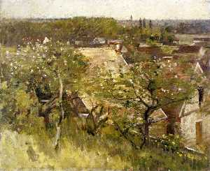 Theodore Robinson - In the Orchard