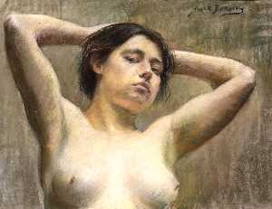 Alice Pike Barney - In Pose
