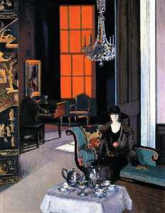 Francis Campbell Boileau .. - Interior: The Orange Blin..