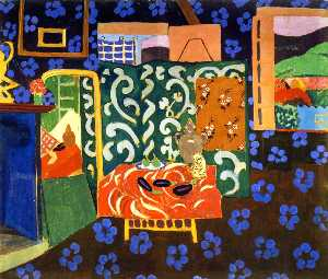 Henri Matisse - Interior with Eggplant