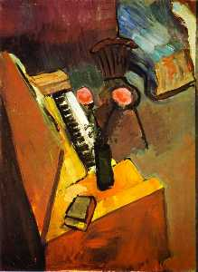 Henri Matisse - Interior With Harmonium